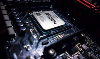 Computer Innenleben mit RAM