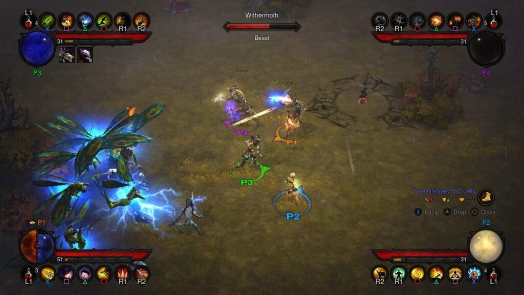 Ein Kampf im Diablo 3 Gameplay