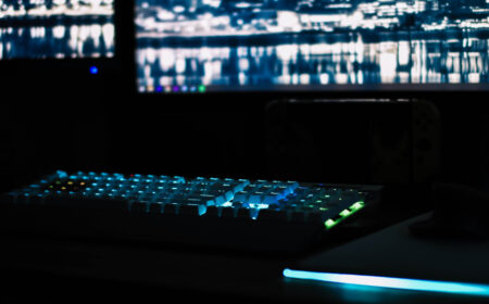 Gaming-Setup tunen mit Beleuchtungselemente