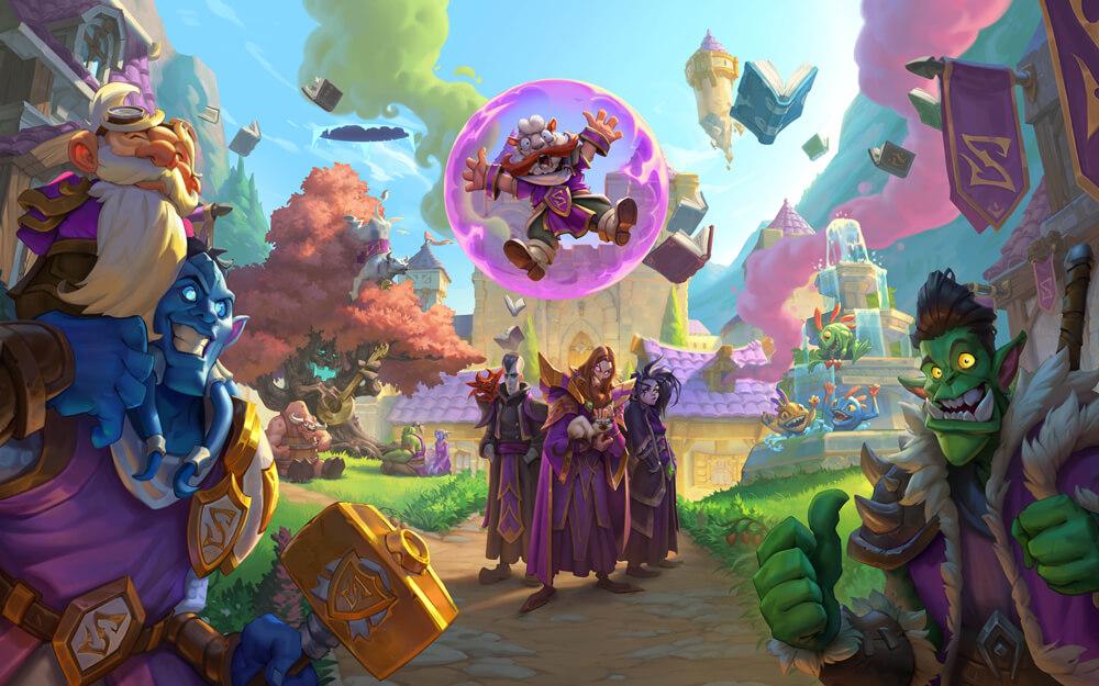 Hearthstone Akademie Scholomance Erweiterung von Blizzard
