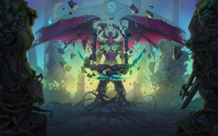 Hearthstone Ruinen der Scherbenwelt Dämonenjäger Illidan