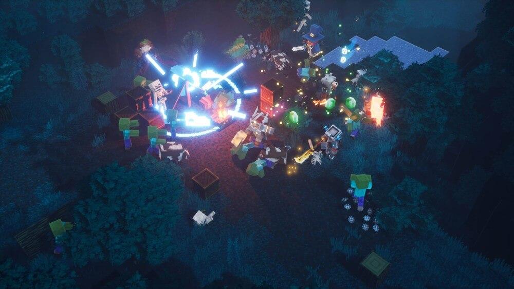 Ein kurzer Einblick ins Minecraft Dungeons Gameplay