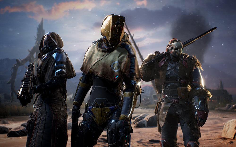 Outriders - Trio - Armour