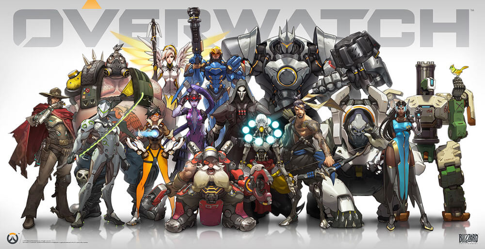 Overwatch - einer der beliebtesten Multiplayer-Shooter