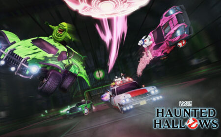 Rocket League Haunted Hallows - Ghostbusters Core Art