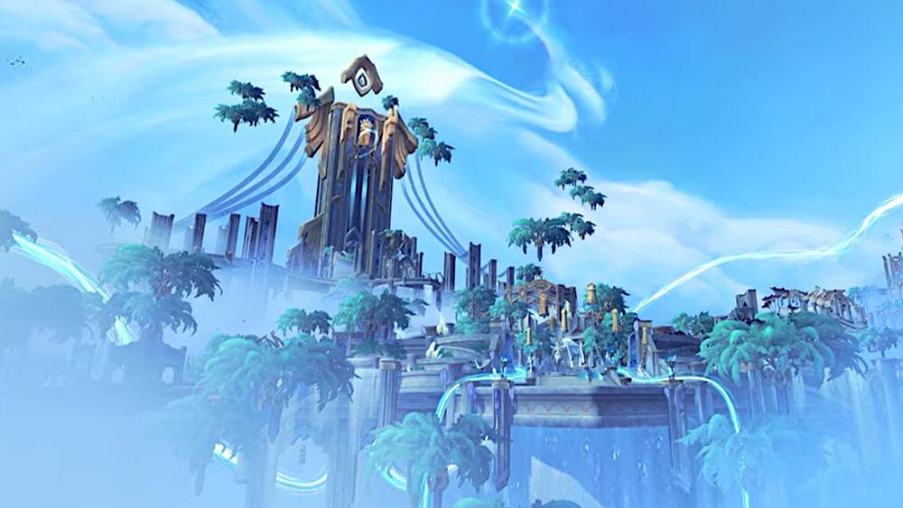 World of Warcraft Shadowlands Release