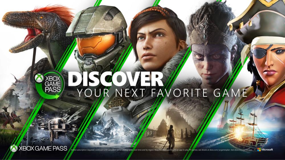 Xbox Game Pass von Microsoft - enthält jetzt schon über 100 Spiele