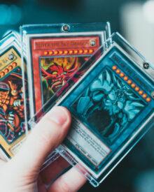 eSports - Trading Cards - Sammelkarten mit Trading-Cards-Hüllen sicher aufbewahren